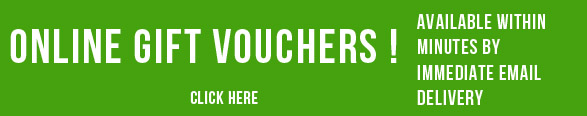 Online Gift Vouchers available for Immediate Delivery by email
