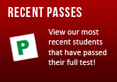 View our growing list of pupils that have passed with driving lessons Medway, Gravesend and Maidstone areas