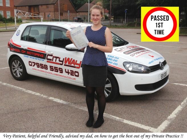 Driving Lessons Chatham | Your Route to a 1st time Pass