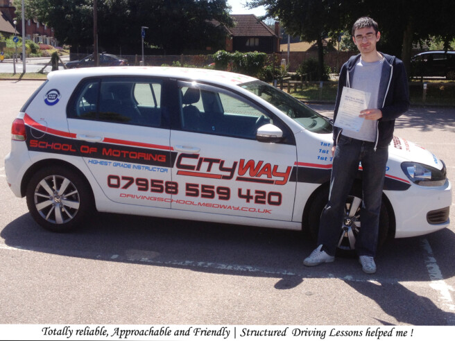 Driving Schools Walderslade | 10 Hrs Tuition for ONLY £210.00