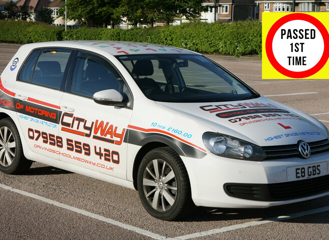 Driving Lessons Chatham | Learn to Pass 1st Time 01634 420103