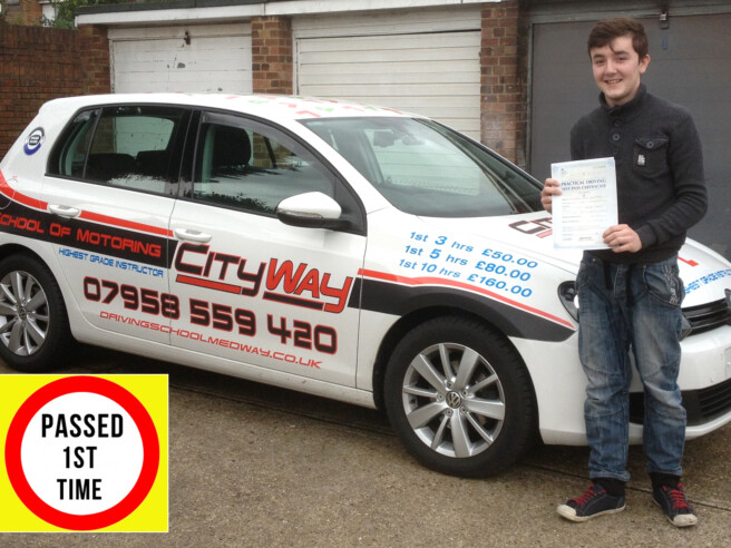 Driving Lessons Gillingham | 10 Hours Tuition ONLY £183.00