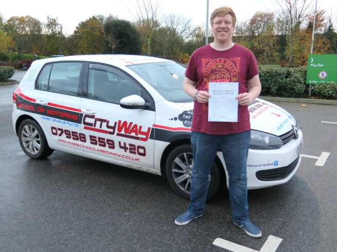 Driving Lessons Rochester | The No 1 route to a 1st time pass