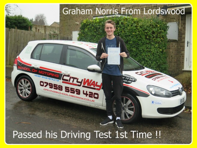 Driving Lessons Lordswood | Intro 10 Hrs £193.00