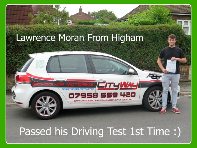 Driving Lessons Higham, Nr Gravesend
