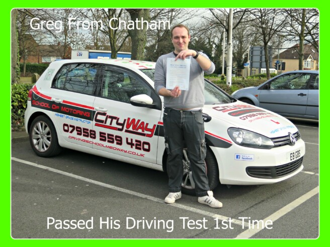 Driving Lessons Chatham | City Way School of Motoring