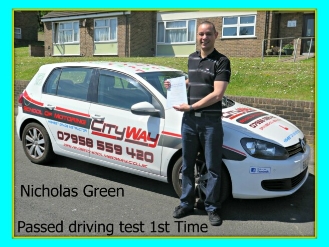 Driving Lessons Gillingham | Intro offers | Nicholas Green