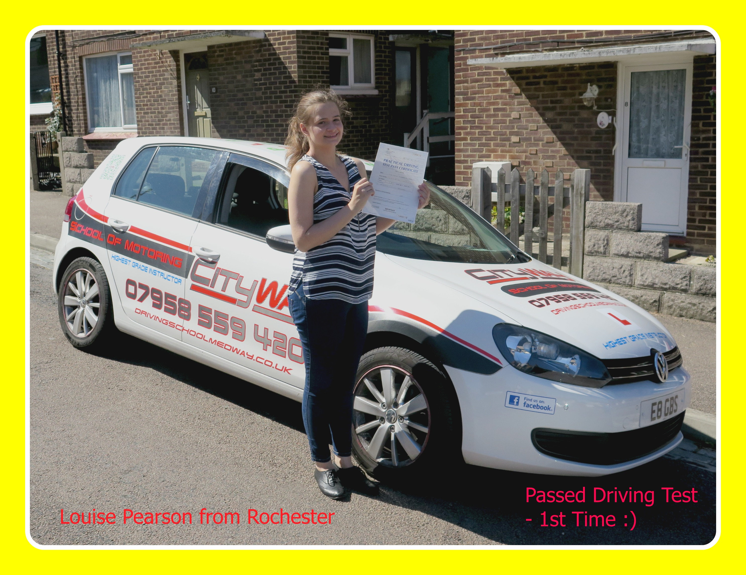 driving lessons rochester louise pearson