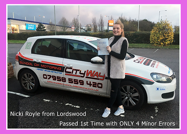 Customer Reviews Lordswood Nikki Royle |