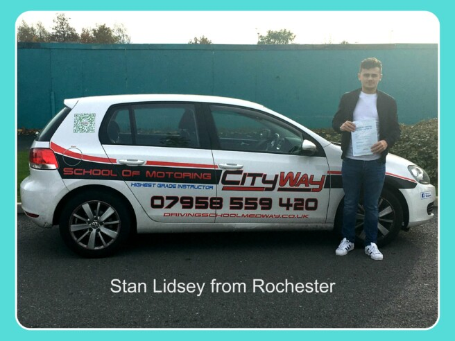 Driving Lessons Rochester | Stan Lidesy