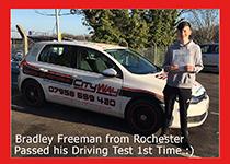 driving lessons rochester bradley freeman