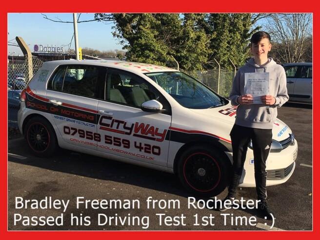 Driving Lessons Rochester | Bradley Freeman