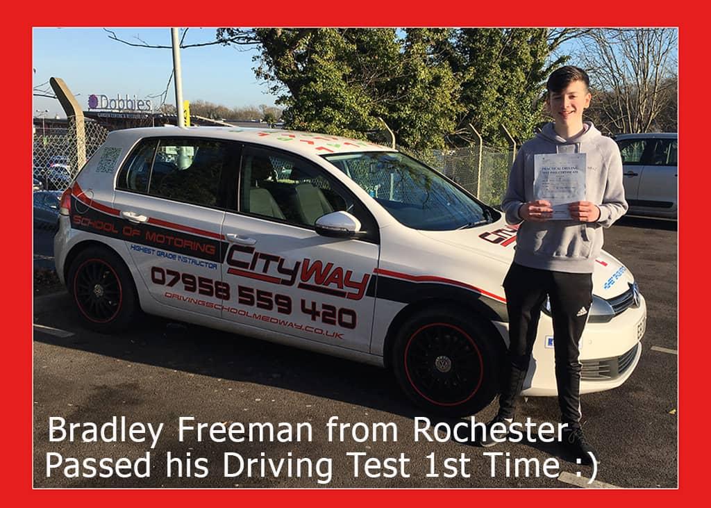 Driving Lessons Rochester - Bradley Freeman