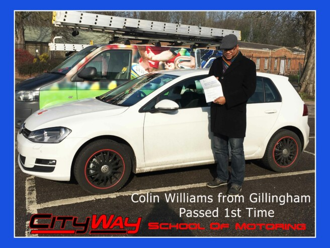 Driving Lessons Gillingham | Colin Williams | Your Freedom Starts here !