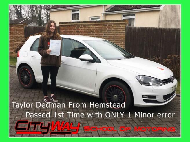 Driving Lessons Hempstead | Taylor Dedman