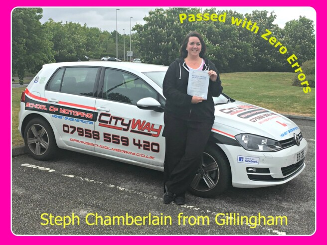 Driving Lessons Gillingham | Steph Chamberlain | Your Route to Independence