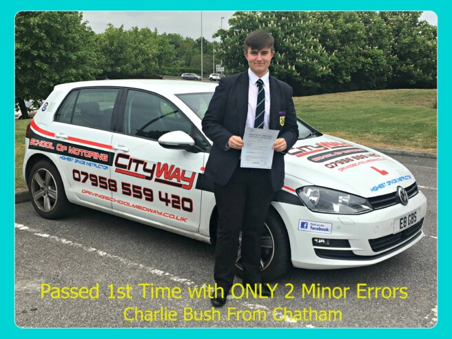 Driving Lessons Chatham | Your Independence Starts here | Charlie Bush