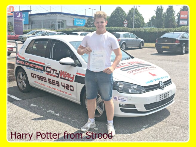 Driving Lessons Strood | Your Freedom Starts Here | Harry Potter