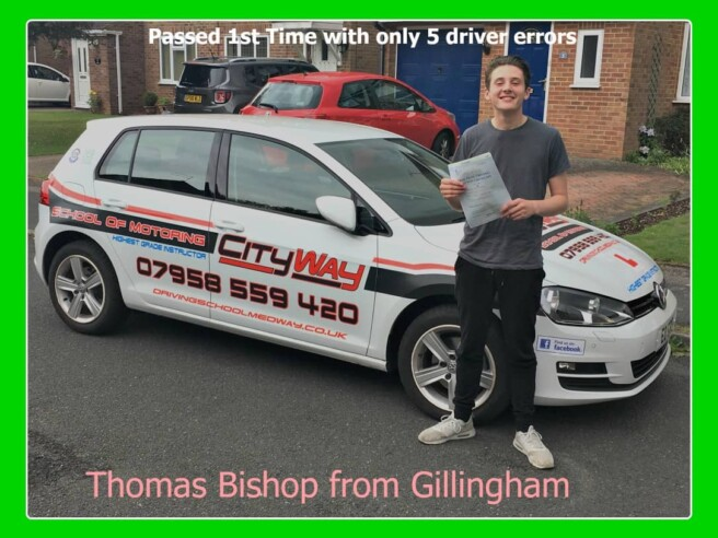 Driving Lessons Gillingham | Thomas Bishop