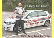 Driving Lessons Rochester | James Perry