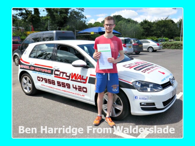 Driving Lessons Walderslade | Ben Harridge