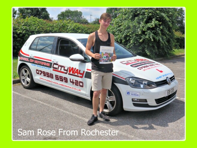 Driving Lessons Rochester | Sam Rose