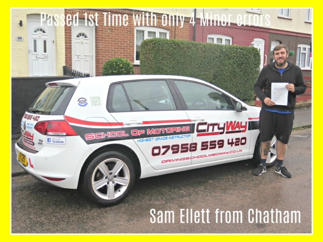 Driving Lessons Chatham | Sam Ellett | Your Dreams can come true.