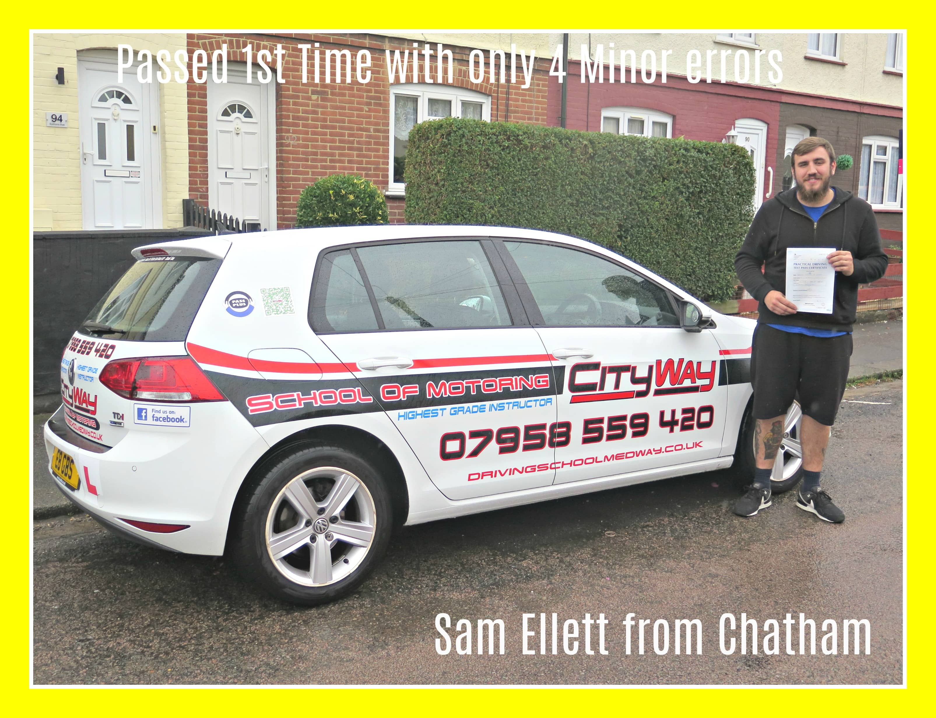 driving lessons chatham sam ellett