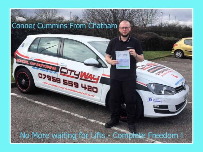 Driving Lessons Chatham | Conner Cummins | Your Freedom Starts here !