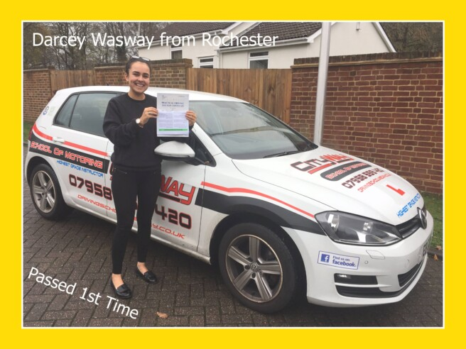 Driving Lessons Rochester | Darcey Wasway | Your Independence starts here!