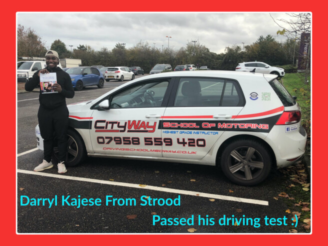 Driving Lessons Strood | Darryl Kajese | Gain your Freedom